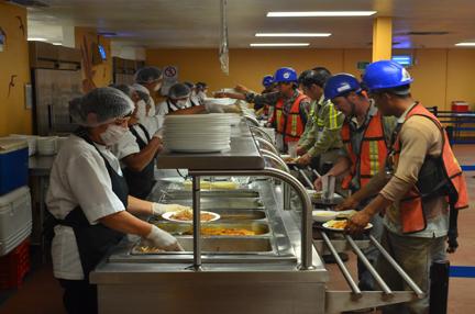 Comedor industrial marma eventos for Concepto de comedor industrial